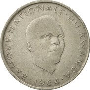 Rwanda, 10 Francs, 1964, TTB, Copper-nickel, KM:7 - Rwanda