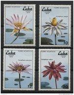CUBA, FLOWERS MNH SET 1979 - Non Classificati
