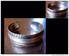 Ancien Bracelet Swar / Old Swar Tunisian Silver Bracelet - Ethniques