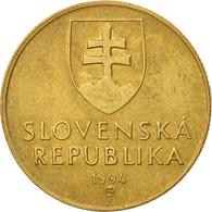 Slovaquie, Koruna, 1994, TTB, Bronze Plated Steel, KM:12 - Slovakia