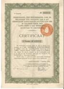 China - Lung Tsing U Hai Railroad - 1000 Guilders - 1928 Dutch Issue 1er Tranche - Asien