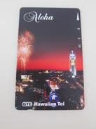 HAW-91 Aloha Tower And Fireworks,mint - Hawaii