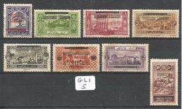 GLI YT 84/85/86/89/90/91/92/94 X - Great Lebanon (1924-1945)