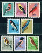 BULGARIA 1965 FAUNA Animals BIRDS - Fine Set MNH - Birds
