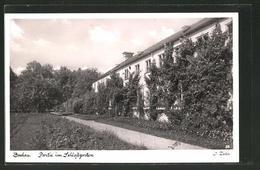 AK Dachau, Partie Im Schlossgarten - Dachau