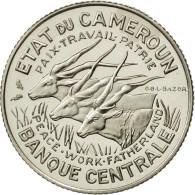 Cameroun, 100 Francs, 1966, Paris, FDC, Nickel, KM:E11 - Cameroon