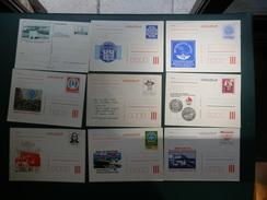 Kartonnendoos7/LOT 280  9 CP  HONGRIE  XX - Postal Stationery