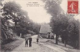 ERQUY - CHAUMIERE BRETONNE Au Vallon De Cavey - Animé - TBE - Erquy