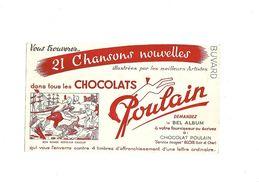 Buvard Chocolat Poulain Bon Voyage Monsieur Dumollet - Cocoa & Chocolat