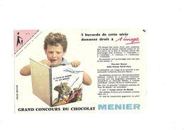 Buvard Chocolat Menier  Grand Concours - Cocoa & Chocolat