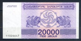 506-Géorgie Billet De 20 000 Laris 1993 - 110 - Géorgie