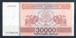 506-Géorgie Billet De 30 000 Laris 1994 - 291 - Géorgie