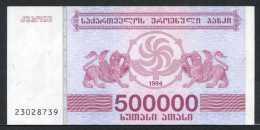 347-Géorgie Billet De 500 000 Laris 1994 - 230 Neuf - Géorgie
