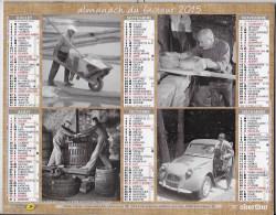 Calendrier De La Poste 2015 Département Du Rhone - Calendars