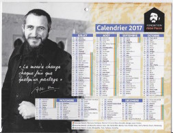 Calendrier Abbé Pierre 2017 - Calendars