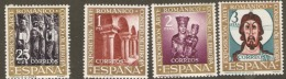 Spain 1961 SG 1426-9  Romanesque Art Exhibition Unmounted Mint - 1961-70 Neufs