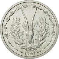 West African States, Franc, 1961, FDC, Aluminium, KM:E3 - Ivory Coast
