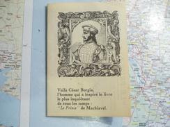 Le Prince De Machiavel Dépliant Publicitaire édition Jean De Bonnot Paris - Oude Documenten