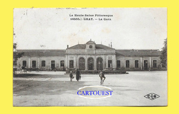 CPA 70 GRAY La GARE De L Est En 1927 ( Peu Commune ) - Gray
