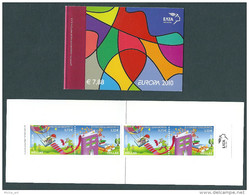 Greece / Grece / Griechenland / Grecia 2010 Europa Cept Booklet With 2 Sets 2-side Perforated MNH - 2010