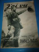 1915 J'AI VU: Numéro Spécial -- LES DIABLES BLEUS -- Les Chasseurs Alpins à L'ALSACE (important Documentaire) - French