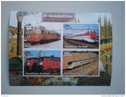 Niger 1998. Trains MNH **. No Dentado / IMPERFORATED. - Niger (1960-...)