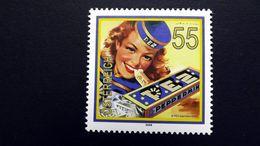 Österreich 2790 **/mnh, Werbeplakat Für PEZ-Pfefferminzbonbons (seit 1927) Der Lebensmittel- Und Süßwarenfabrik E. Haas - 1945-.... 2a Repubblica