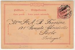 Postal Stationery * Germany * 1894 * Frankfurt - Allemagne