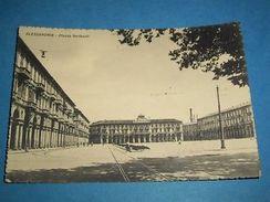 Cartolina Alessandria - Piazza Garibaldi 1944 - Alessandria