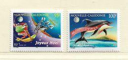 NOUVELLE CALEDONIE  ( NC - 545 )  1997  N° YVERT ET TELLIER  N° 744/745  N** - Nuovi