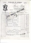 88 - Vosges - RAMBERVILLERS - Facture PETIT - Cycles Et Armes - 1936 - REF 69C - 1900 – 1949