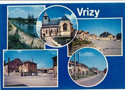 08) VRIZY : Carte Multi-vues - France