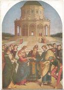 Z3054 Raffaello Sanzio - Lo Sposalizio Della Vergine - Milano Pinacoteca Di Brera - Dipinto Paint Peinture - Paintings