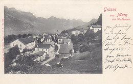 Grüsse Aus Murg Am Wallensee - Stabstempel - 1902       (P-71-50209) - SG St-Gall