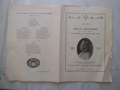 9 JUIN 1929 FÊTES DU CINQUANTENAIRE DE LA SOCIETE AMICALE DES ANCIENS ELEVES DU PENSIONNAT DES FRERES DE PASSY 1879-1929 - Programme