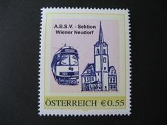 PM 8001659 ABSV Wiener Neustadt Mit €-Zeichen Postfrisch - Personalisierte Briefmarken
