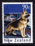 New Zealand 2006 Year Of The Dog 90c German Shepherd Used - New Zealand