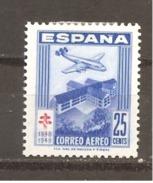 España/Spain-(MH/*) - Edifil  1040-43 - Yvert  781-83, Aéreo-239 - 1931-50 Nuovi