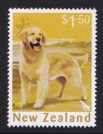 New Zealand 2006 Year Of The Dog $1.50 Retriever Used - New Zealand