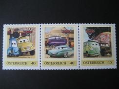 Österreich PM Aus KB Cars 3 Postfrisch - Personalisierte Briefmarken