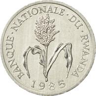 Rwanda, Franc, 1985, British Royal Mint, SUP, Aluminium, KM:12 - Rwanda