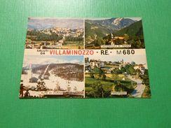 Cartolina Saluti Da Villa Minozzo - Vedute Diverse 1980 - Reggio Nell'Emilia