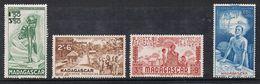 MADAGASCAR AERIEN N°41 A 44 N** - Madagascar (1889-1960)