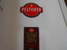 .ETIQUETTE BIERE PELFORTH BRUNE - Cerveza
