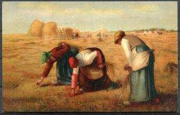 K.F. Editeurs, Paris Serie 588 Art Postcard. Farm Workers Painting - 1900-1949