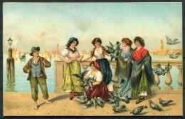 Tessari, Venice Misch 'World Galleries' Postcard Series 1110 - Paintings