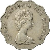 Hong Kong, Elizabeth II, 2 Dollars, 1975, TTB, Copper-nickel, KM:37 - Hong Kong