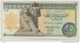 EGYPT  P. 42b 25 Ps 1972 UNC - Egypte
