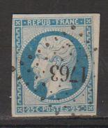 +++ A SAISIR !!!  N°10 * 1852  VOIR SCAN RECTO-VERSO - 1852 Louis-Napoléon
