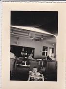 MIMI PHOTO---BATEAUX  PAQUEBOT  FOCH--en Mer,sur Le Foch Décembre 51--voir 2 Scans - Photographs
